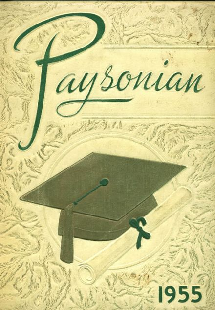 1955 Payson High School Yearbook Cover