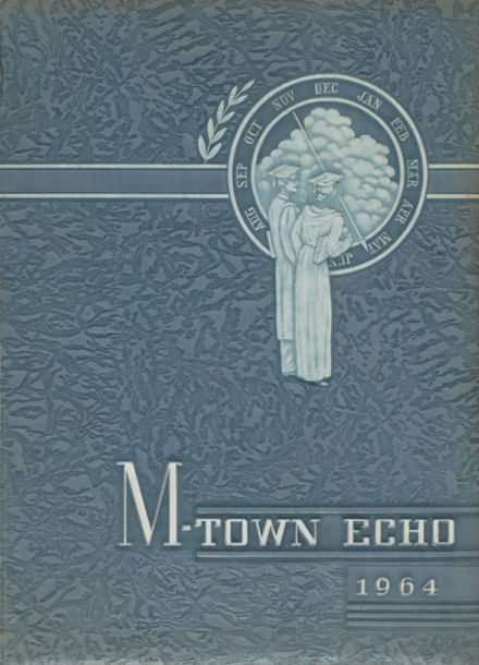 1964 Middletown Area High School Yearbook Cover