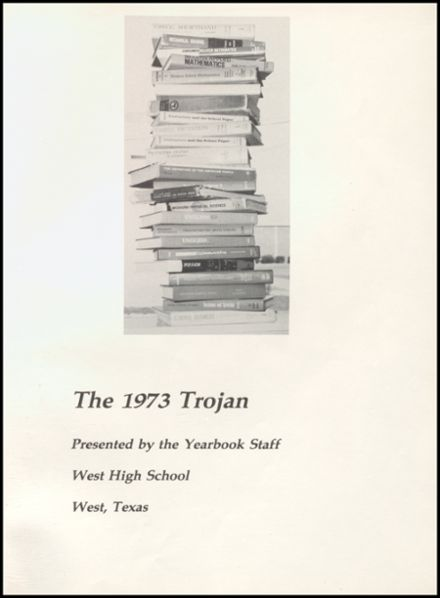 1973 West High School Yearbook Page 5