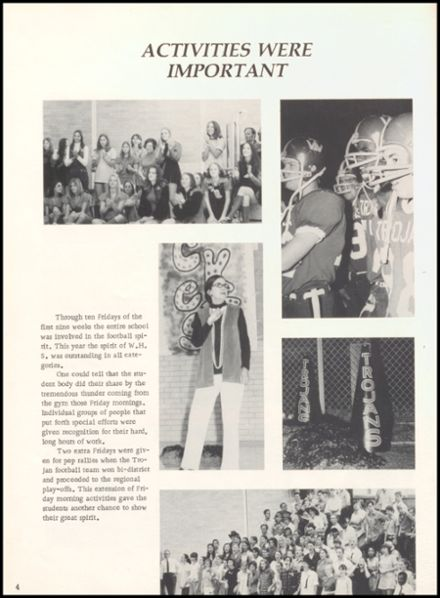 1973 West High School Yearbook Page 8