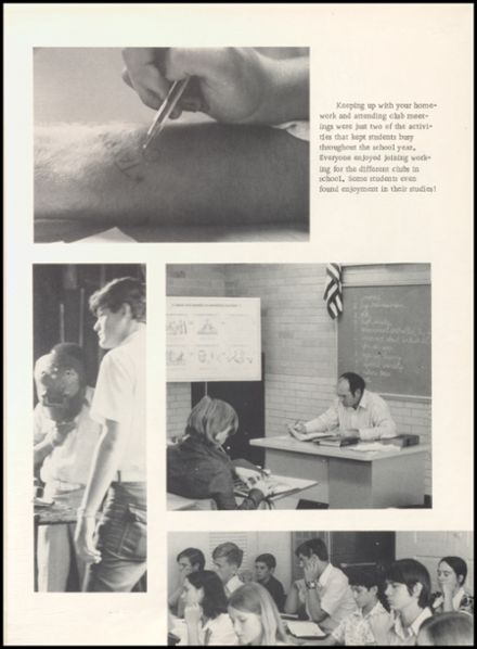 1973 West High School Yearbook Page 9
