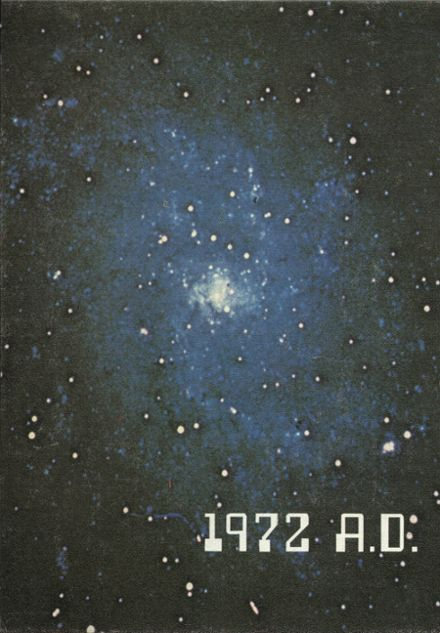 1972 Mt. Assumption Institute Yearbook Cover