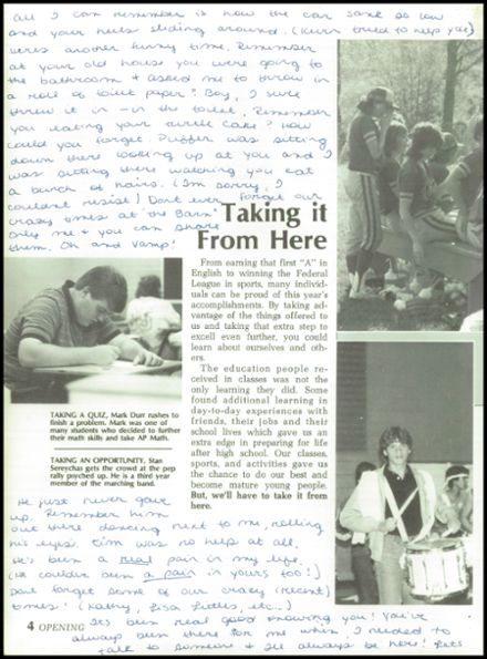 1985 Jackson High School Yearbook Page 8