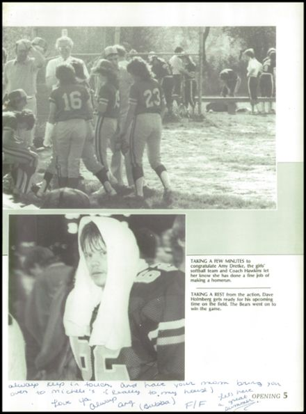 1985 Jackson High School Yearbook Page 9