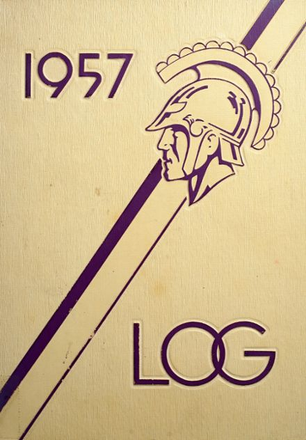 1957 Lakeview High School Yearbook Cover