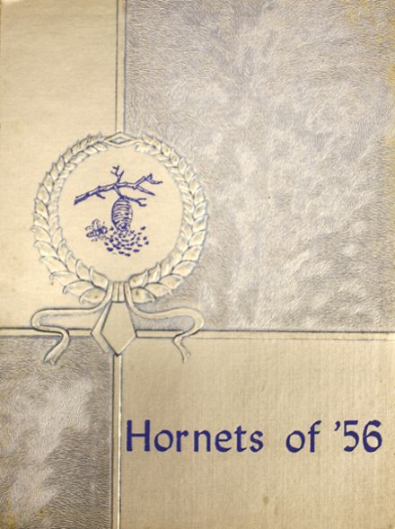1956 Moline High School Yearbook Cover