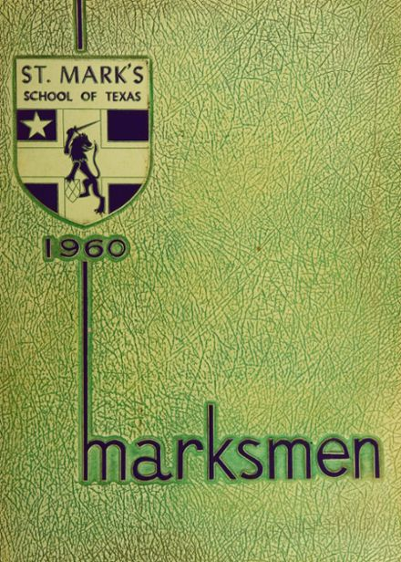 1960 St. Mark's School of Texas Yearbook Cover