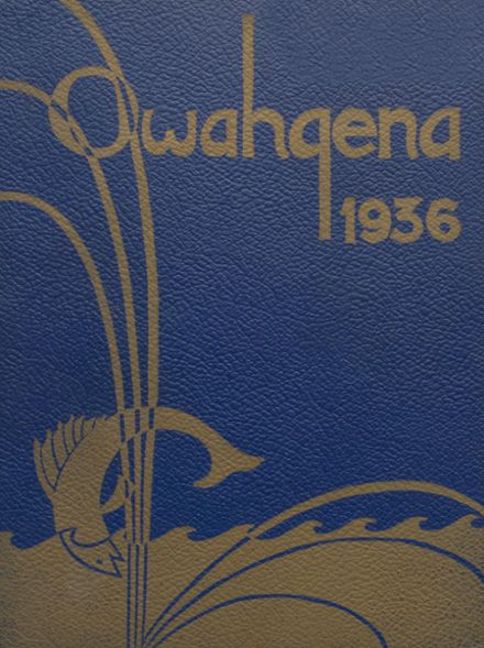 1936 Cazenovia High School Yearbook Cover