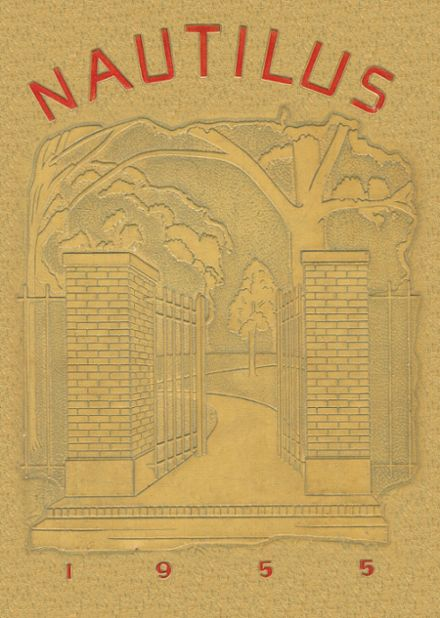1955 Greenville High School Yearbook Cover