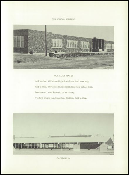 1962 Pickton High School Yearbook Page 7