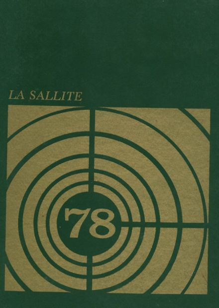 1978 Lasalle Academy Yearbook Cover