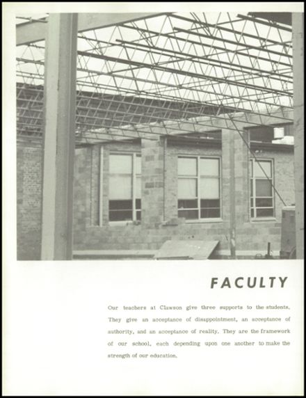1965 Clawson High School Yearbook Page 8