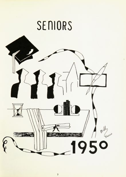 1950 Marcellus High School Yearbook Page 7