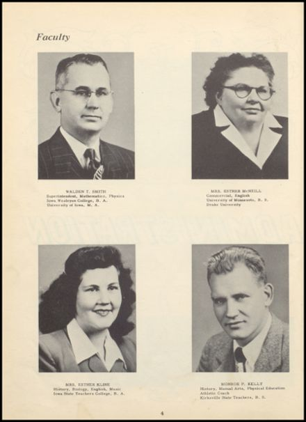 1950 Huron Consolidated High School Yearbook Page 8