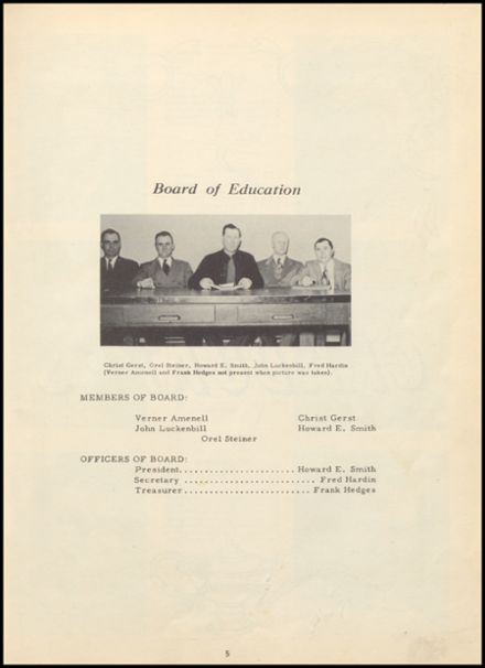 1950 Huron Consolidated High School Yearbook Page 9