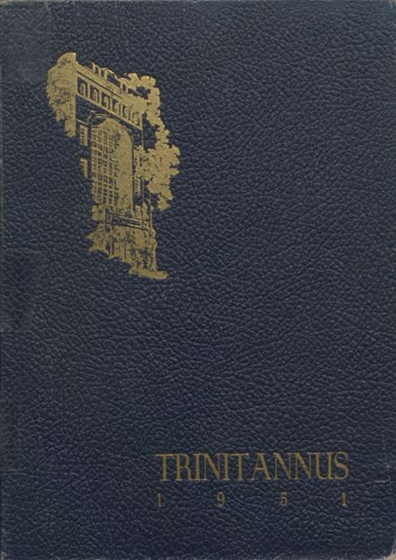 1951 Trinity Pawling High School Yearbook Cover