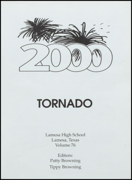 2000 Lamesa High School Yearbook Page 5