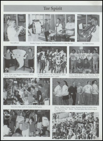 2000 Lamesa High School Yearbook Page 8