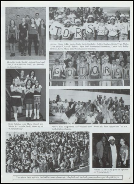 2000 Lamesa High School Yearbook Page 9