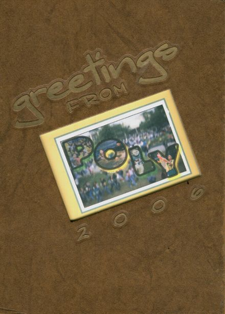 2006 Long Beach Polytechnic High School Yearbook Cover