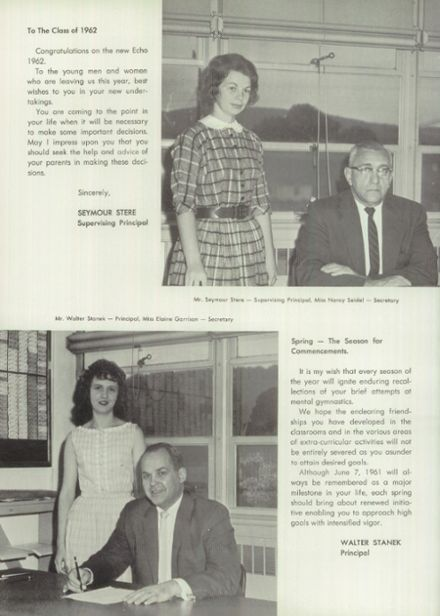 1962 Millville Area High School Yearbook Page 8