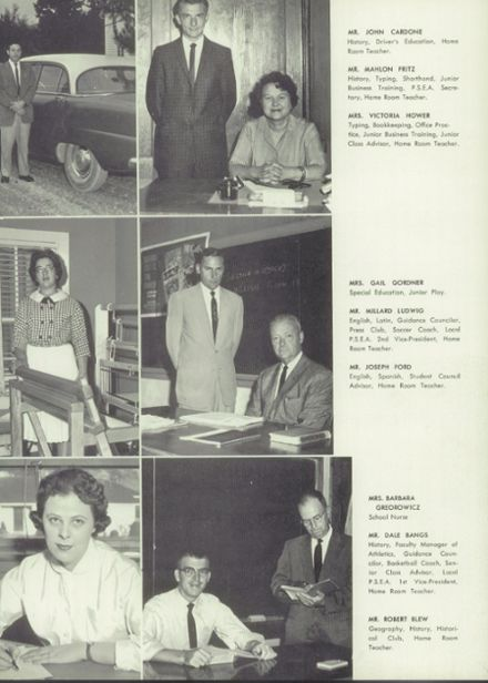 1962 Millville Area High School Yearbook Page 9