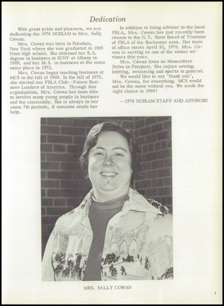 1976 Marion High School Yearbook Page 7