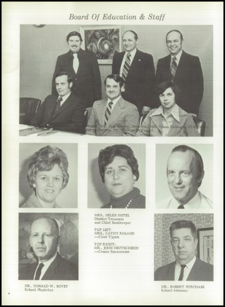 1976 Marion High School Yearbook Page 8