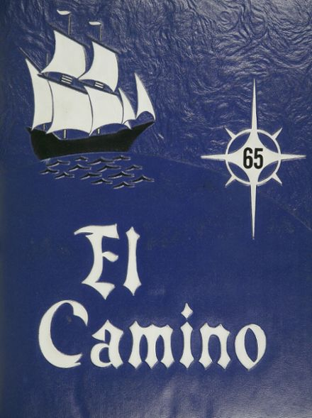 1965 North Hollywood High School Yearbook Cover