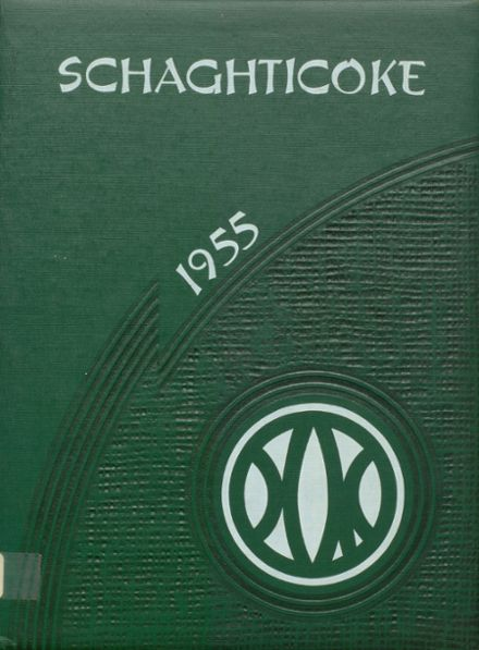 1955 New Milford High School Yearbook Cover