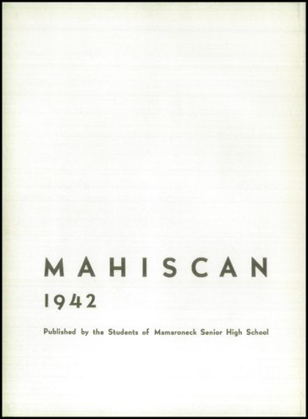 1942 Mamaroneck High School Yearbook Page 6