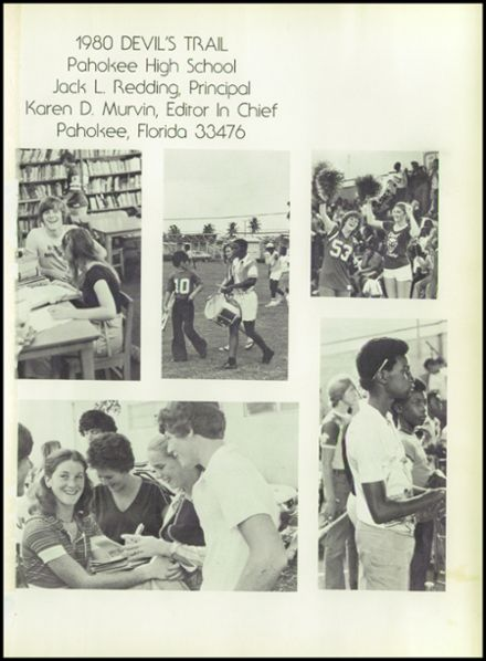 Explore 1980 Pahokee High School Yearbook, Pahokee FL