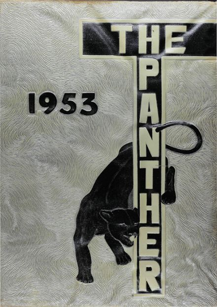 1953 Hillcrest High School Yearbook Cover