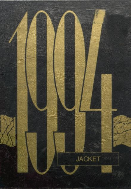 1994 Bassfield High School Yearbook Cover