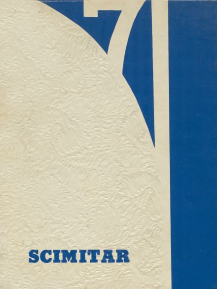 1971 Sultan High School Yearbook Cover
