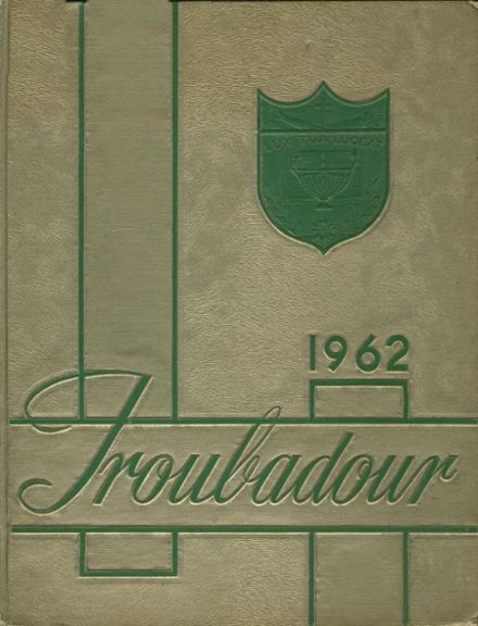 1962 Catholic High School of Baltimore Yearbook Cover
