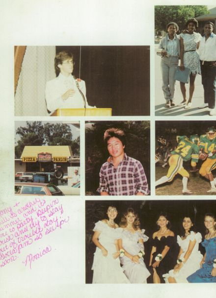 1984 Roosevelt High School Yearbook Page 6