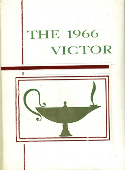 1966 Our Lady of Victory Academy Yearbook Cover