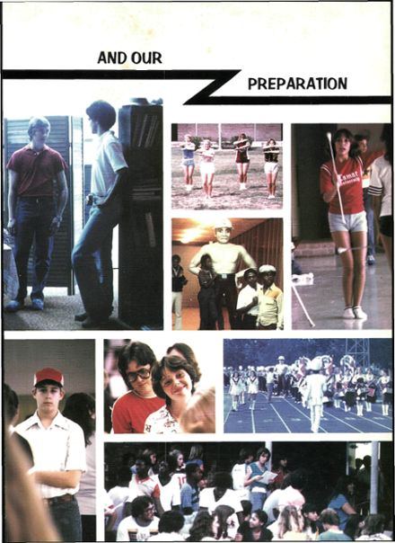 1981 Columbia High School Yearbook Page 9