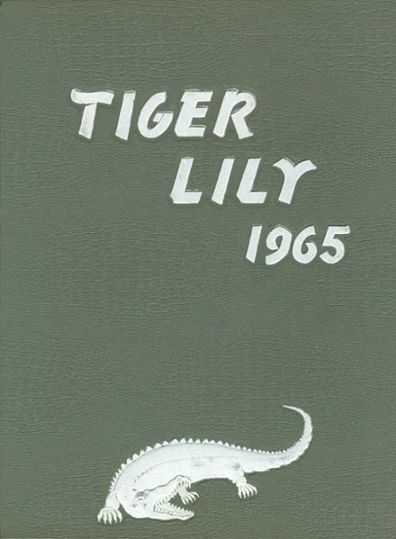 1965 Port Allegany High School Yearbook Cover