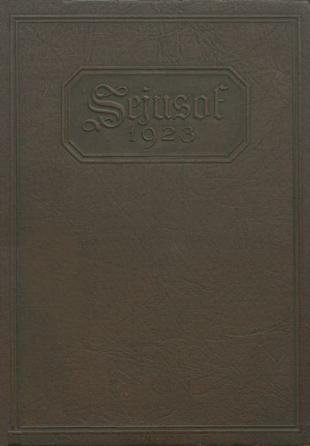 1923 Hagerstown High School Yearbook Cover