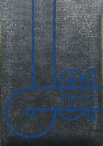 1981 Cyril High School Yearbook Cover