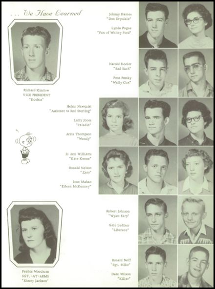 1961 Goodman High School Yearbook Page 3