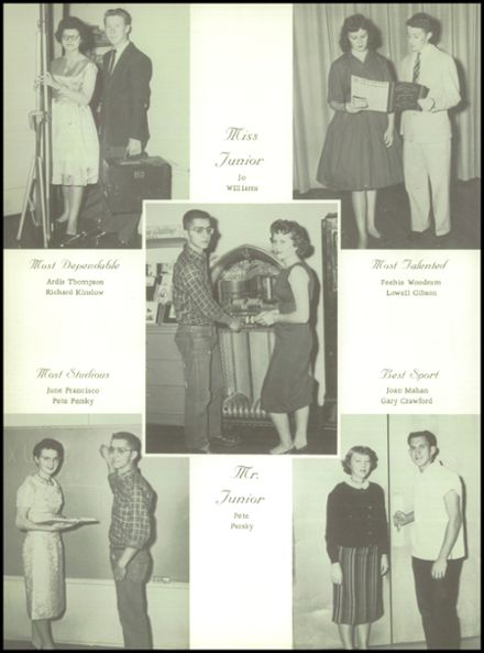 1961 Goodman High School Yearbook Page 4