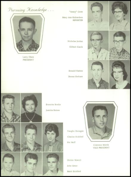 1961 Goodman High School Yearbook Page 6