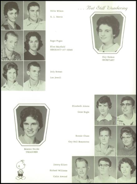 1961 Goodman High School Yearbook Page 7