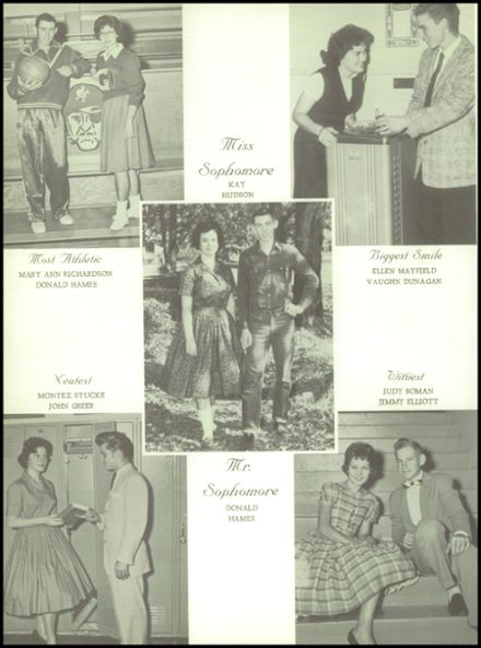 1961 Goodman High School Yearbook Page 8