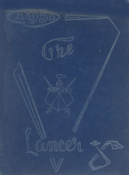1951 Canby High School Yearbook Cover