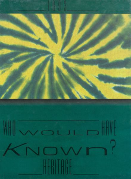 1993 Shawnee Mission South High School Yearbook Cover