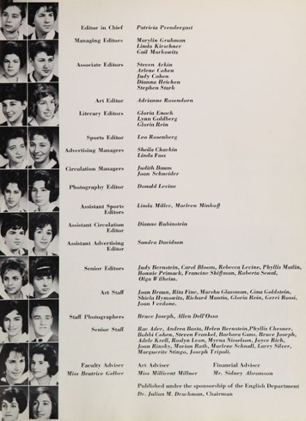 1960 New Utrecht High School Yearbook Page 9
